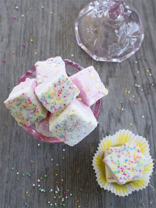 birthday cake marshmallows