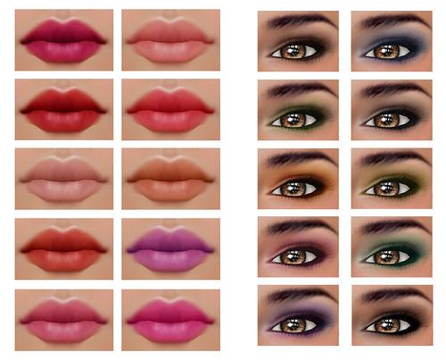 Cassandra Skin Make-Ups (included)