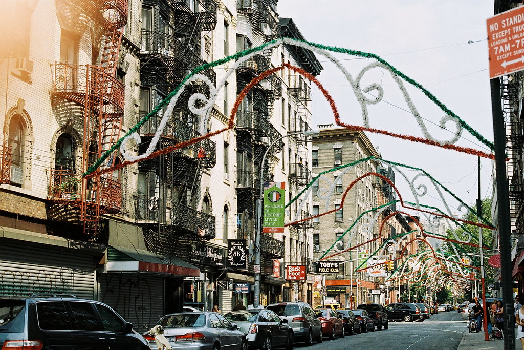 little italy, a week in new york