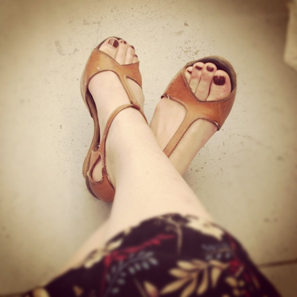 Sunshine and summer shoes