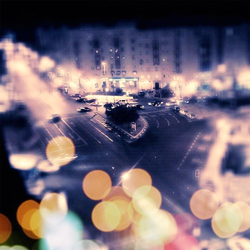 Madrid bokeh
