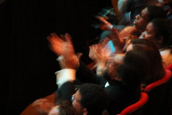 Cornel West enjoying his retirement party