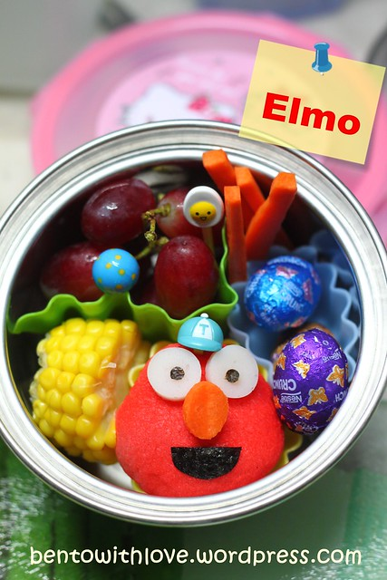 No Waste Elmo Bento