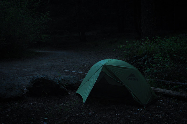 Sheltering in Mendocino & MSR Hubba Long-Term Review u0026 Photos