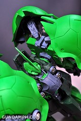 1-100 Kshatriya Neograde Version Colored Cast Resin Kit Straight Build Review (101)