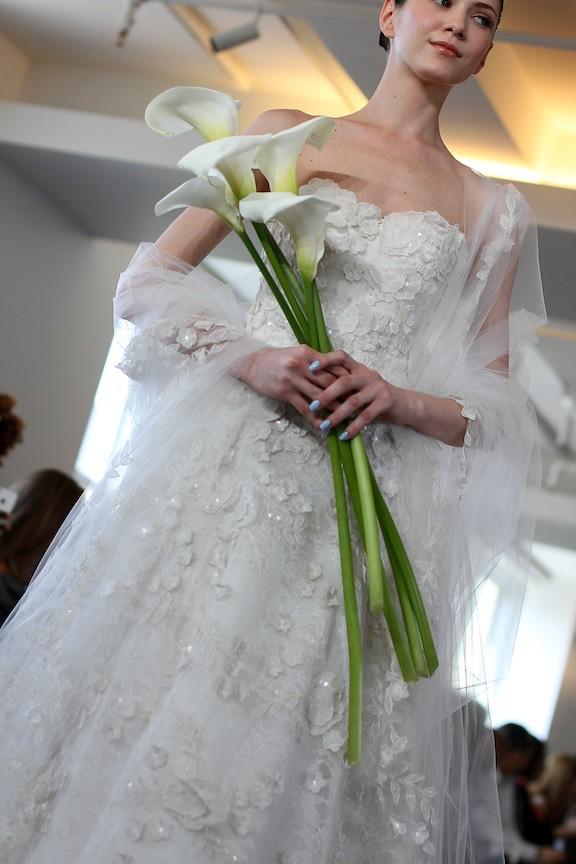 Oscar de la Renta Bridal 2013 89