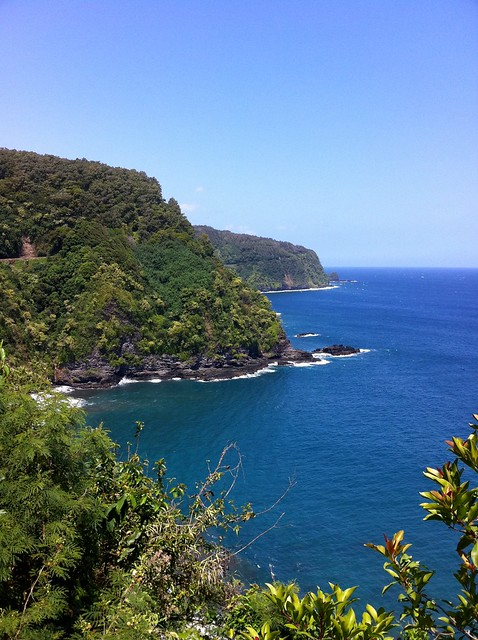 road to hana + Pacific