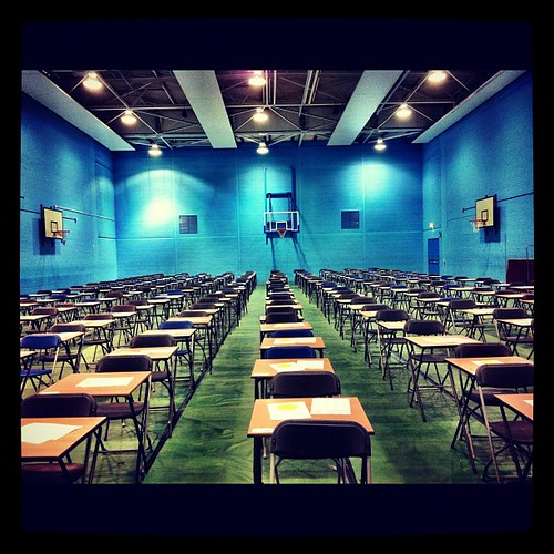 Exam time again...