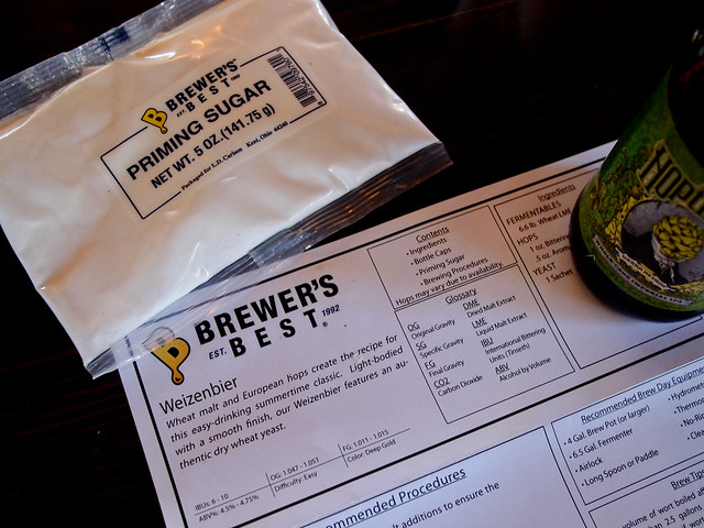 1st HomeBrew - Reviewing Instructions