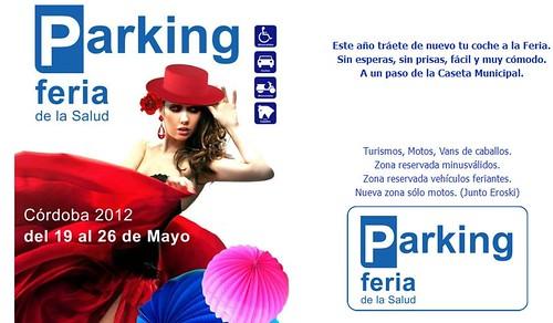 Aparcamiento parking Feria de Mayo en Córdoba.