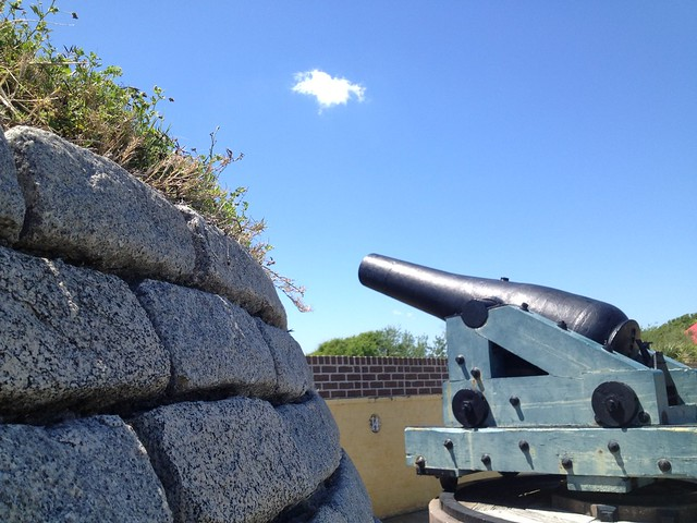 Cannon, Fort Moultrie