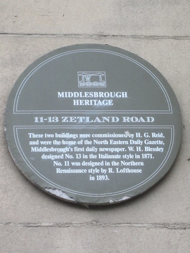 Zetland Road, Middlesbrough