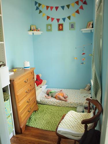M's nursery now