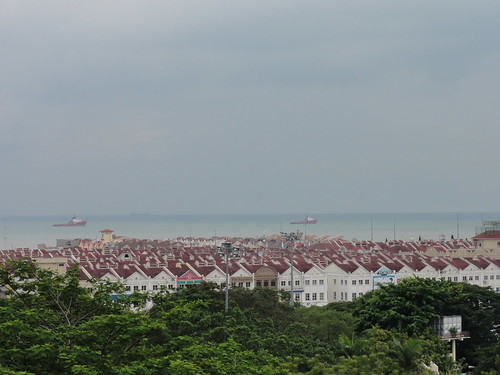 Majestc View of Melaka from Bukit St. Paul