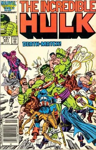 Incredible Hulk #321