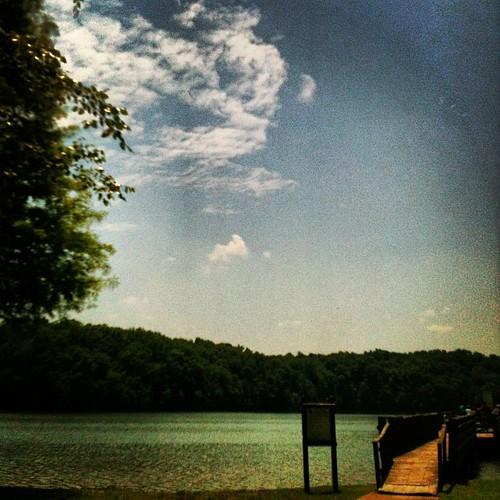 Lake Higgins by Greensboro NC