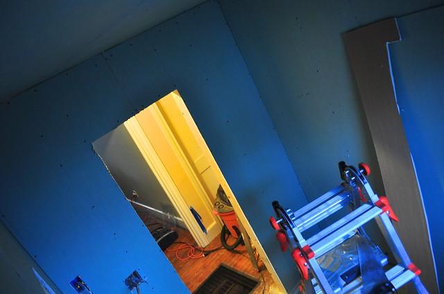 2012-02-15 Bathroom insulation and sheetrock 02