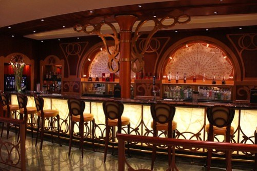 Disney Fantasy Atrium bar