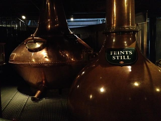 Feints Still, distilling process - The Old Jameson Distillery