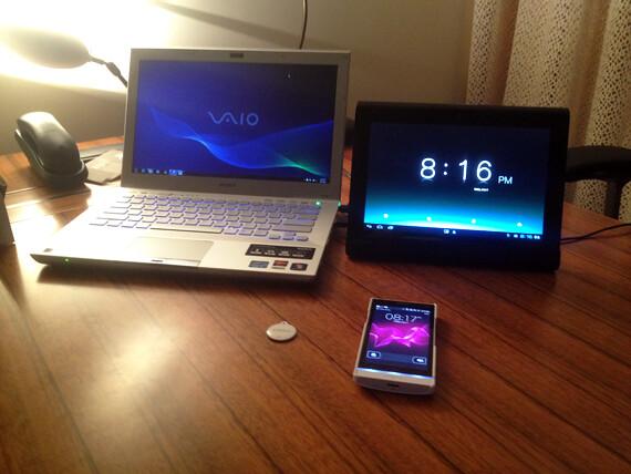 Sony XPERIA S, VAIO, Tablet S