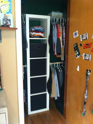 boys closet after