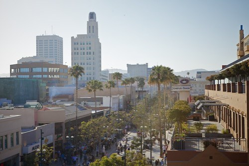 Santa Monica From Above