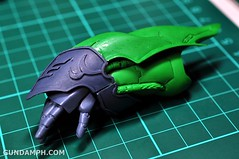 1-100 Kshatriya Neograde Version Colored Cast Resin Kit Straight Build Review (50)