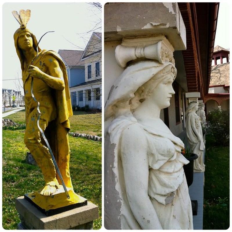 NPS Statues