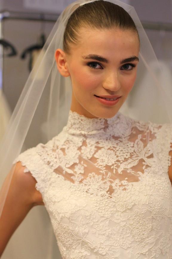 Oscar de la Renta Bridal 2013 61