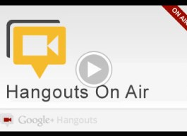 Hangouts On Air Video Recording of Help Desk Hangout On Air