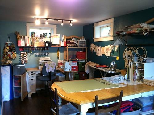 Where I sew 2012