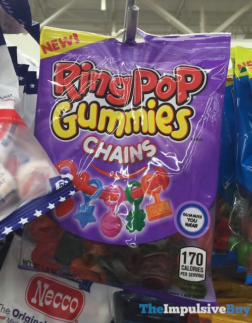 Ring Pop Gummies Chains