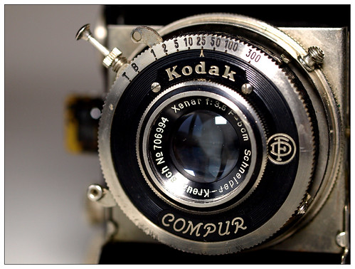 Kodak Retina 117 - Lens and Shutter