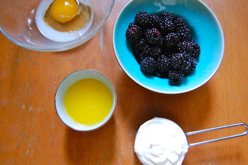 Fruit + Wet Ingredients