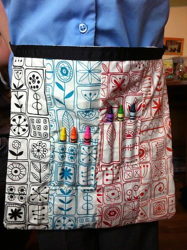 365:166 Crayon apron