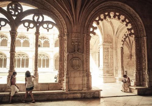 Pentecôte (Mosteiro de Los Jeronimos, Belem, Lisbonne) - Photo : Gilderic