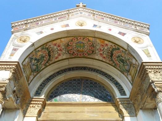 cappella Camerini  - dettaglio di ingresso