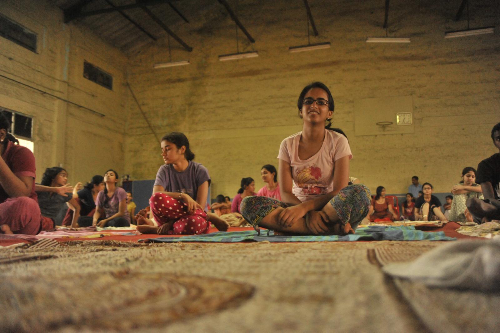 good morning - Hatha yoga..