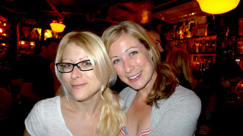 Jenn & I at The Spotted Pig