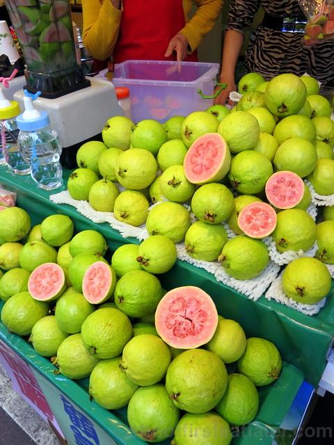 Tamsui, Taipei- guava