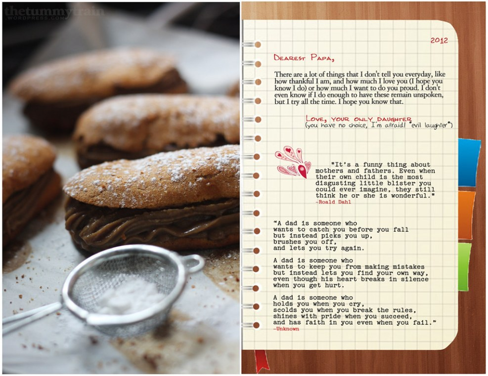 Éclairs with Mocha Pastry Cream