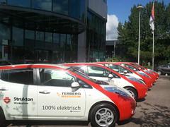 Nissan Leaf voor Strukton Worksphere 4
