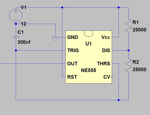 555 Variable Frequency Square Wave Generator This Simple 555 Variable