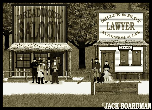 Marshal Kidd's reputation as a lawman grew ©2012 Jack Boardman