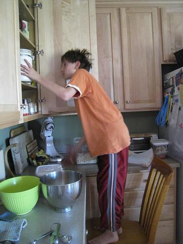 Cookie-making