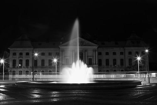 Wasserspiel am Pirnaischen Platz