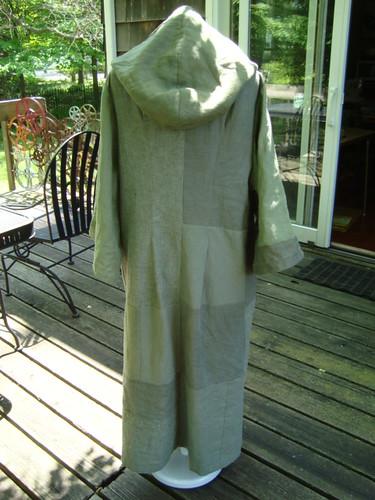 Green coat - back