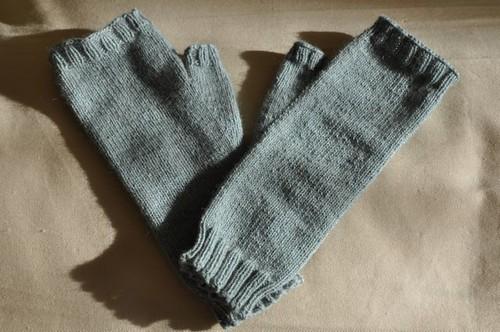 Plain Jhayne mittens.