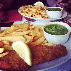 cod & chips in Hounslow. #food #london #travel
