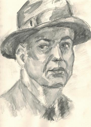 Man in a Hat by husdant